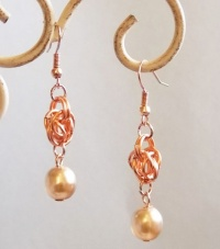 Full Persian Chain Maille Earrings