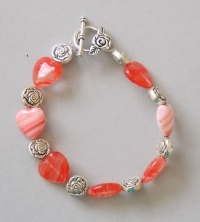 Hearts and Roses Bracelet