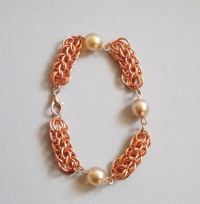 Full Persian Chain Maille Bracelet